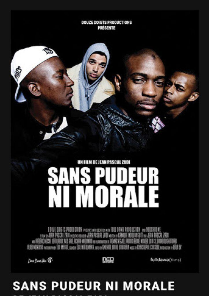 SANS PUDEUR NI MORALE de Jean-Pascal Zadi / Cinéma sur le toit x Sofilm au Bar à Bulles
