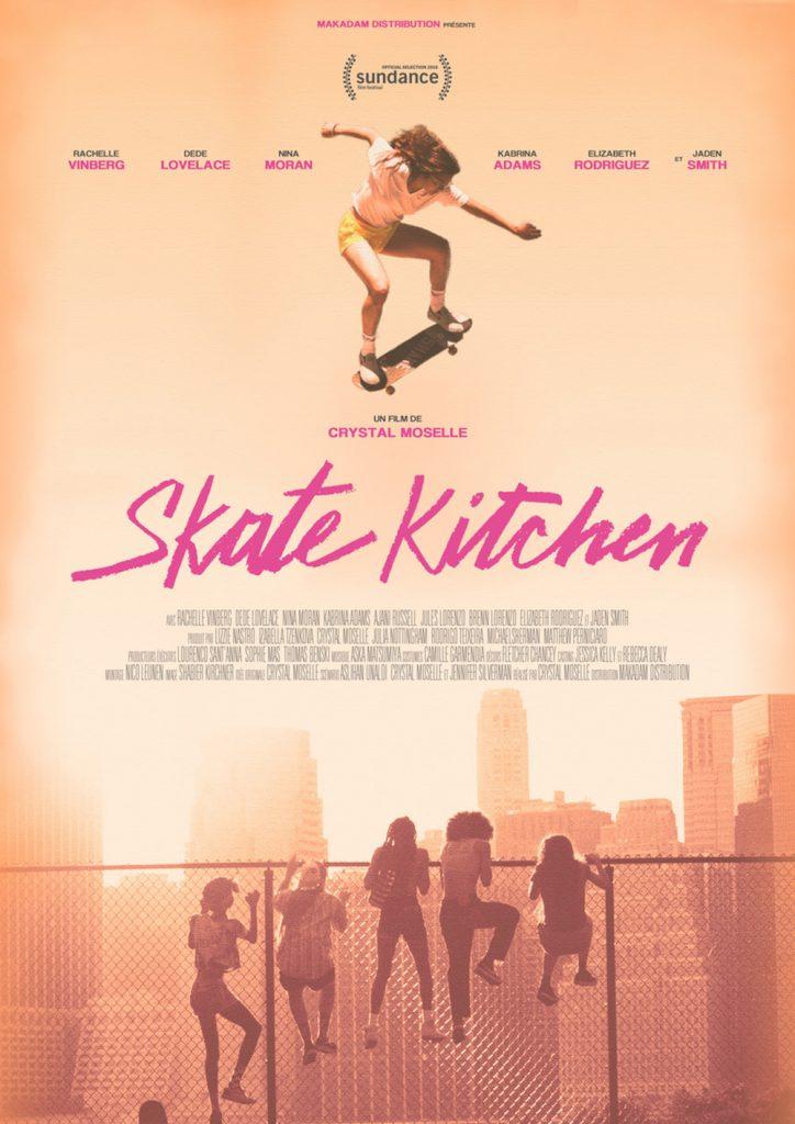 SKATE KITCHEN de Crystal Moselle / Cinéma sur le toit x Sofilm au Bar à Bulles